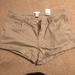 Tan Summer Shorts
